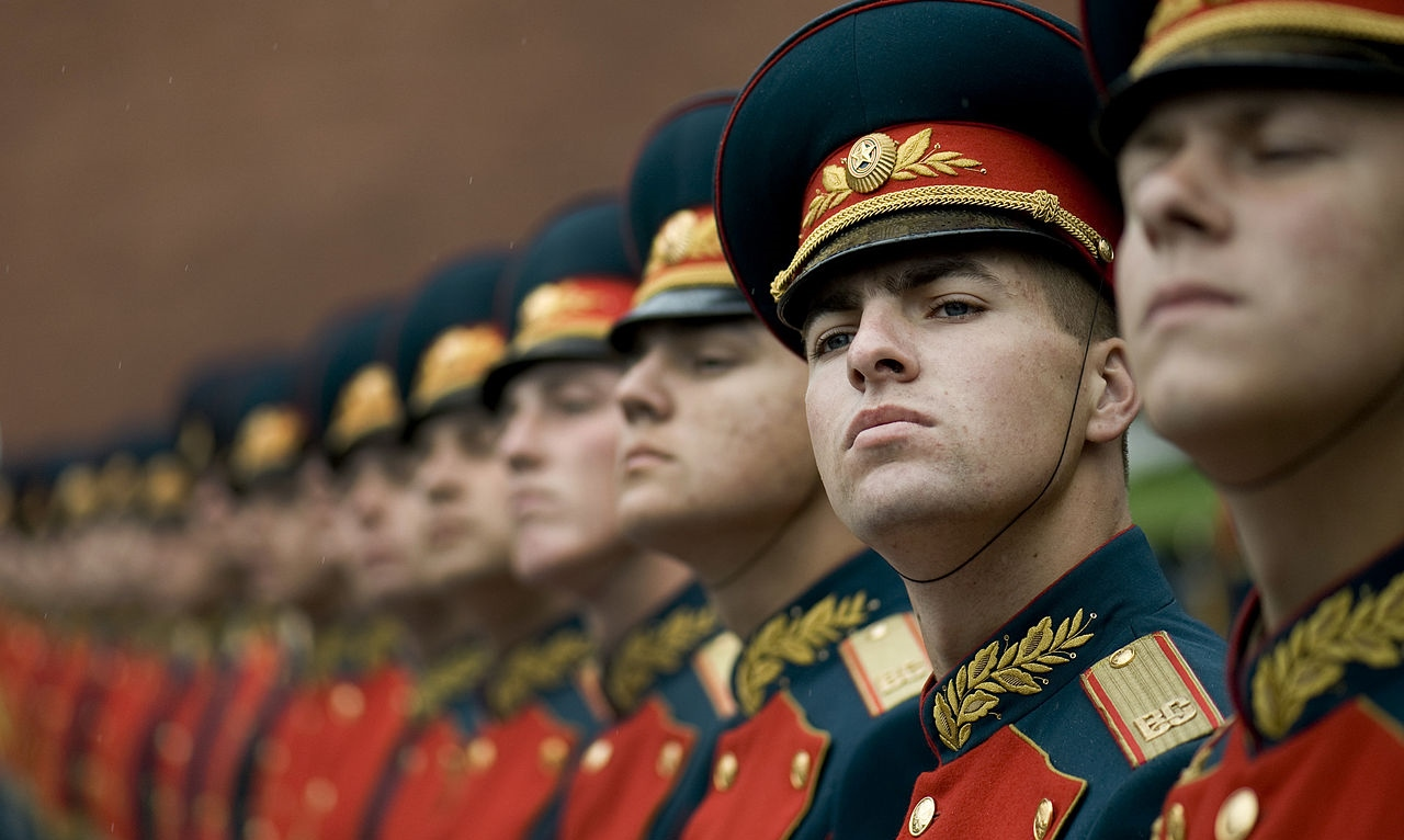 Russian Army Honor Guard