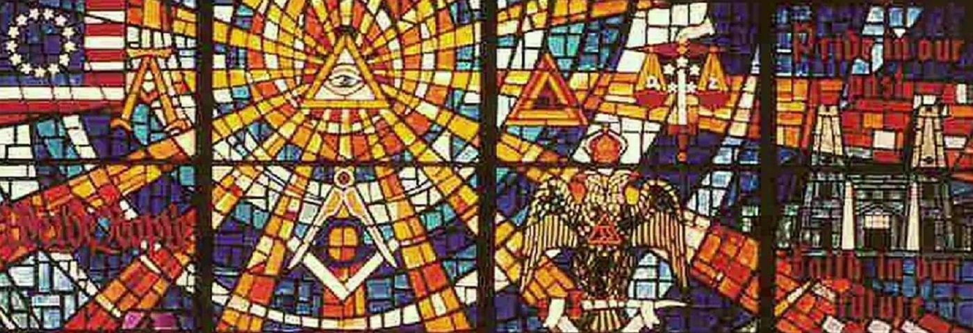 Stained Glass Masonic