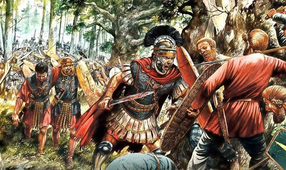 Battle of Teutoburger Forest