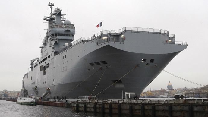 Mistral Amphibious Assault Ship