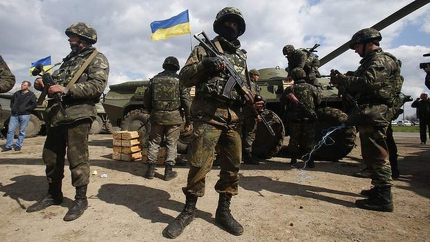 Ukrainian Troops
