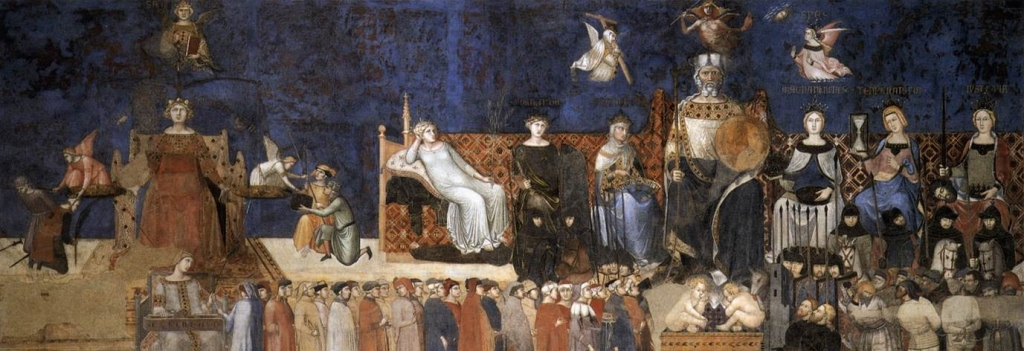 Ambrogio Lorenzetti Allegory of Good Government