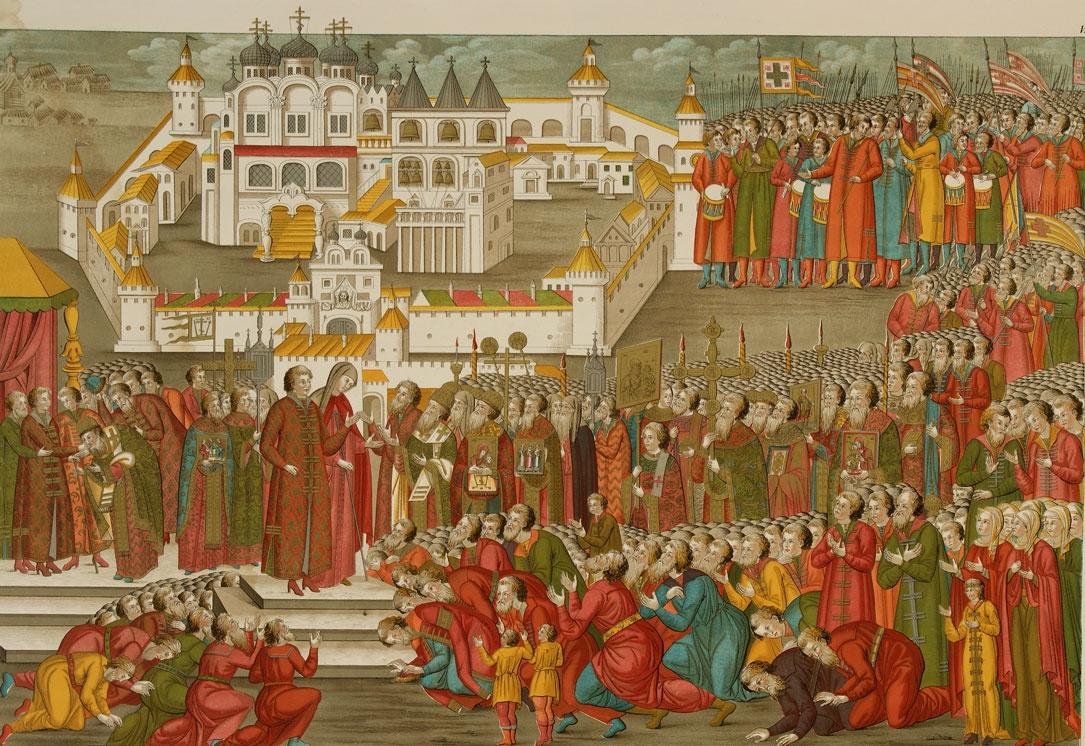 В 1613 году внучатый племянник анастасии и сын фёдора никитича михаил фёдорович и его потомство