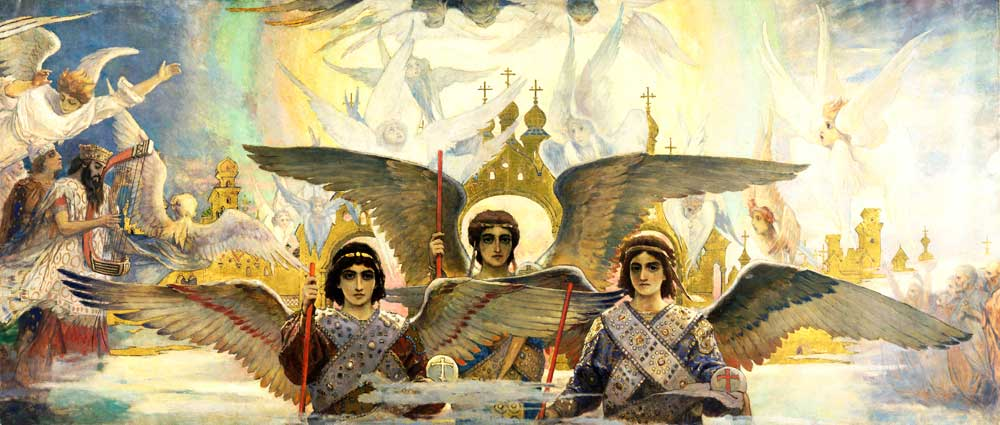 Painting by Viktor Vasnetsov.