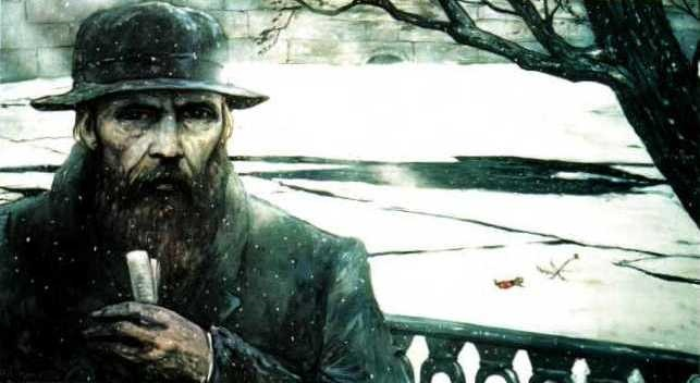 Image result for dostoevsky painting