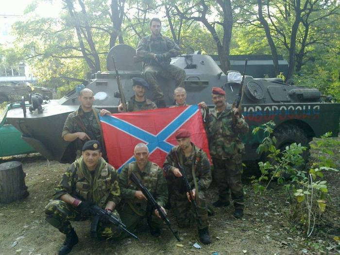 Serbian French Volunteers Novorussia
