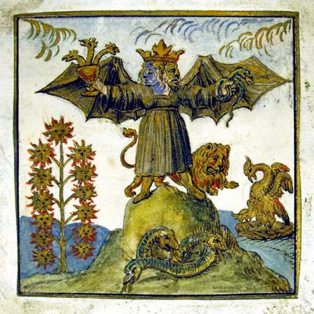 Androgyny through alchemy.