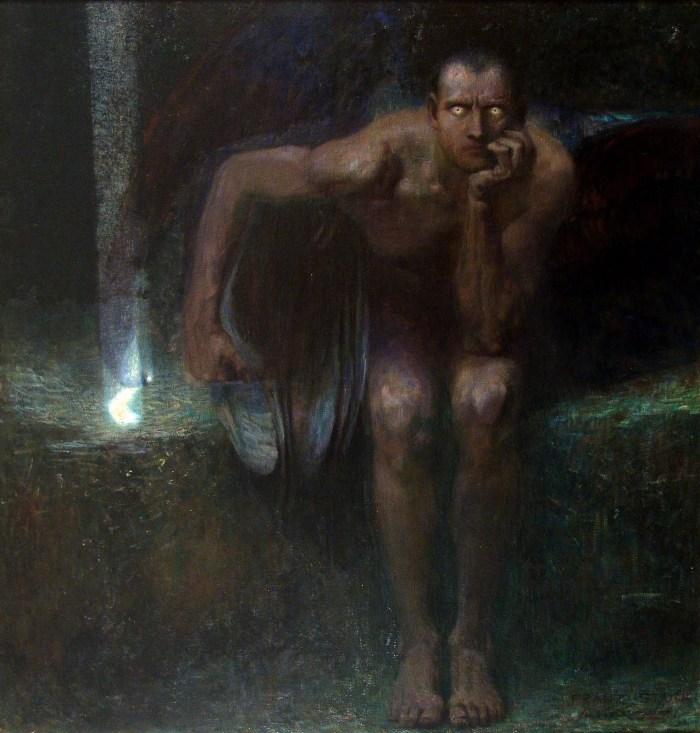 Franz Von Stuck Lucifer