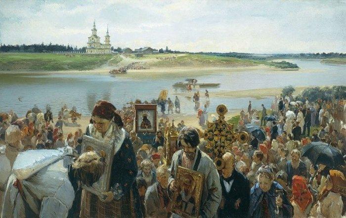 Cross Procession - Illarion Pryanishnikov