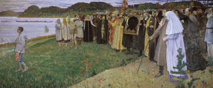 The Spirit of the People, by Mikhail Nesterov.