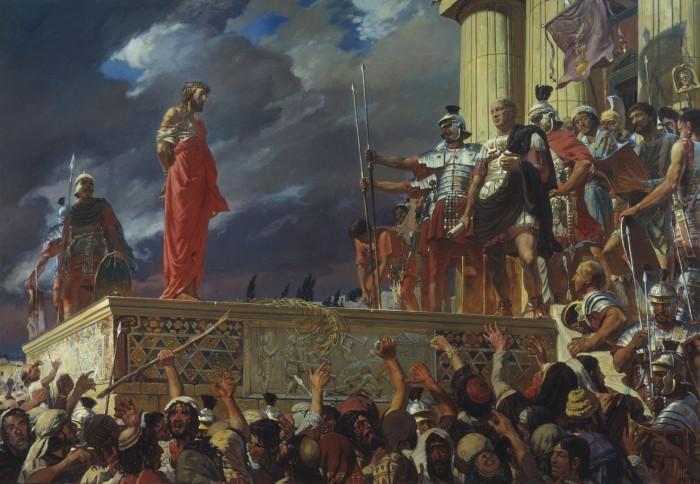 Christ on Trial Ivan Glazunov