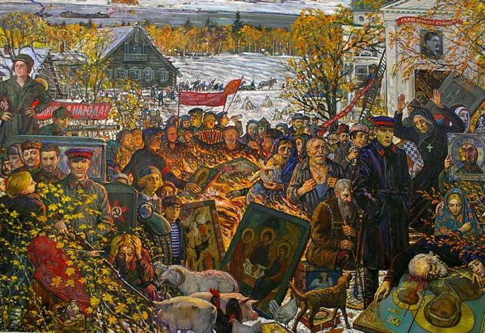 De-Kulakization, by Iliya Glazunov.