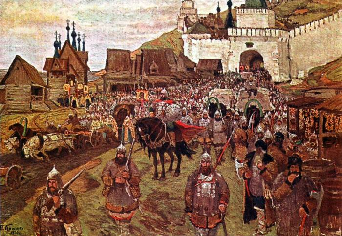 Liberation of Moscow, 1612.