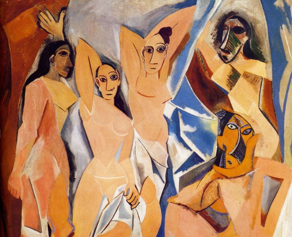 Manifesting the demonic: Picasso's Les Demoiselles d'Avignon