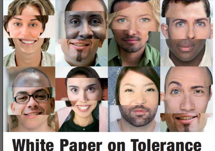 EU White Paper on Tolerance