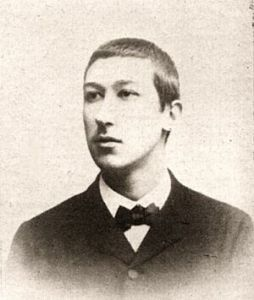 Philosopher Rene Guenon as a young man.