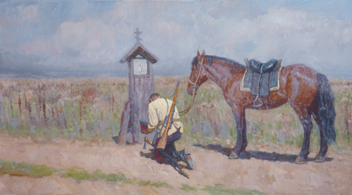 Cossack by the Cross