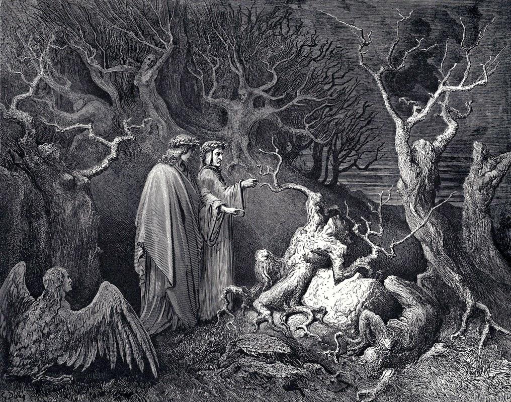 Dante Seventh Circle