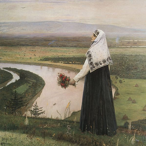 Nesterov Girl on the Hill